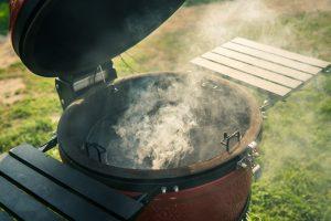 Pro Joe Kamado Joe Grill cooking with Desora BBQ