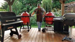 John Setzler Kamado Joe Grills Classic III Cinder Grill Desora BBQ Hero Series